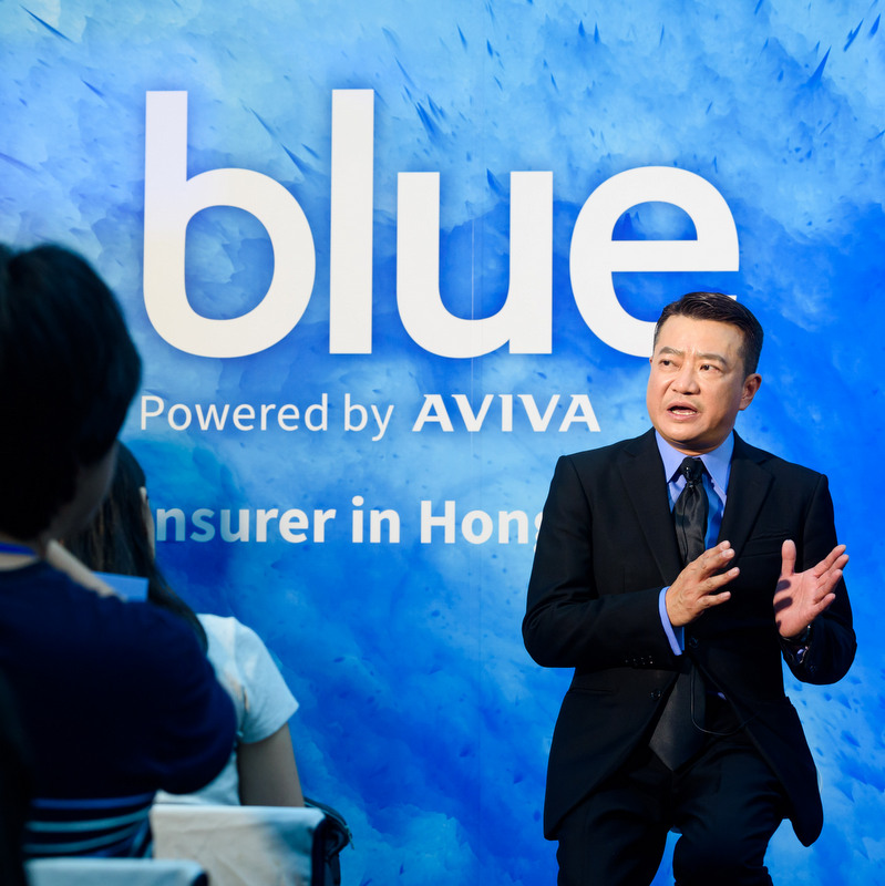 Launching the first digital insurer BLUE in Hong Kong