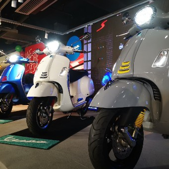 Vespa GTS 300 Launch